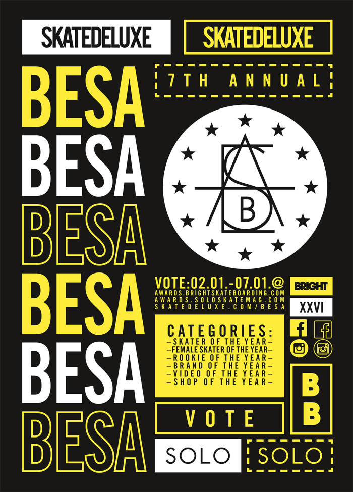 European Skateboard Awards – BESA 2018
