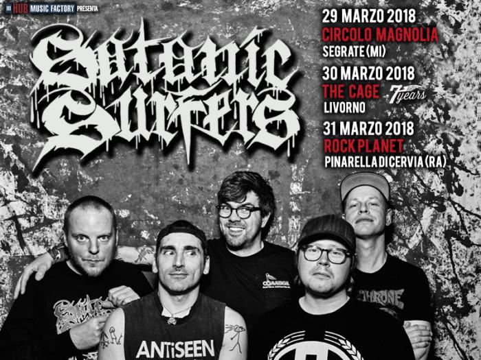 Satanic Surfers: annunciati gli opener della data di Livorno!