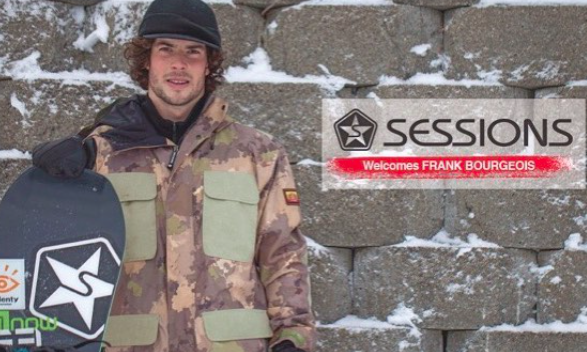 Sessions has announced the addition of Quebec's Frank Bourgeois to the global team.