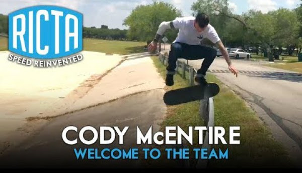 Ricta Wheels – Welcome to the Team Cody Mc