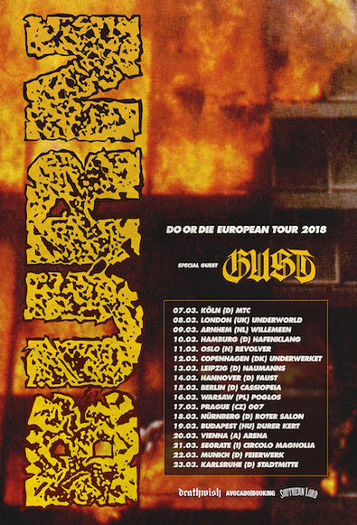 Gust announce tour dates supporting Burn in March