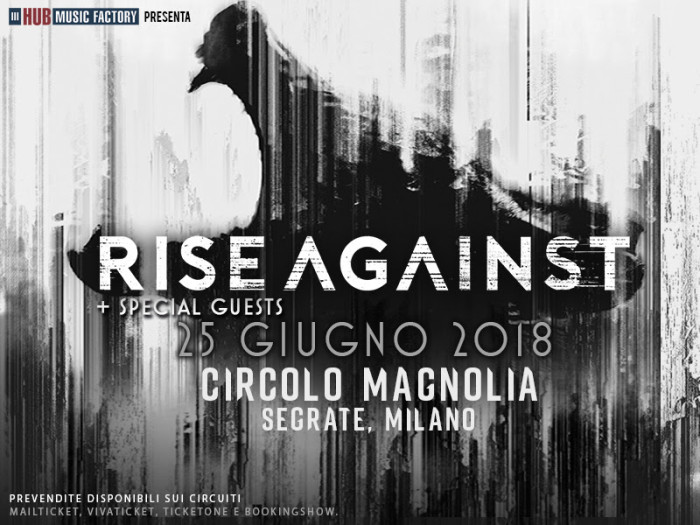 Rise Against: tornano in Italia per un'unica data esclusiva!