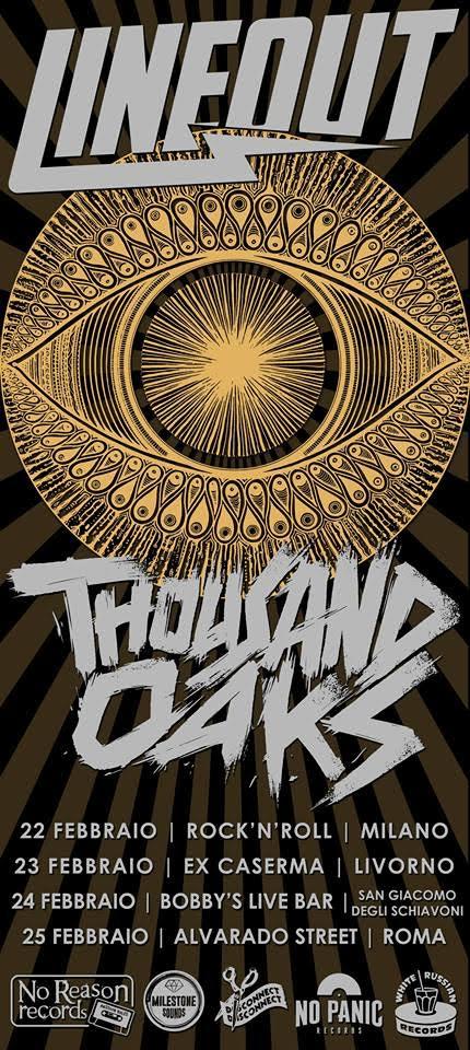 Lineout + Thousand Oaks mini tour