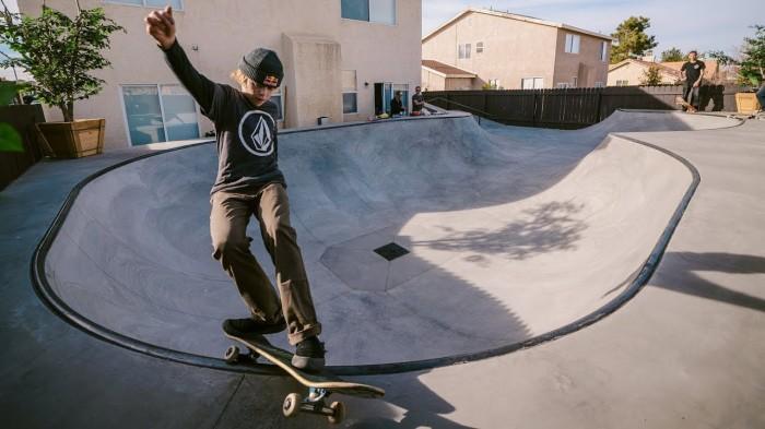 Volcom / CJ Collins' new backyard