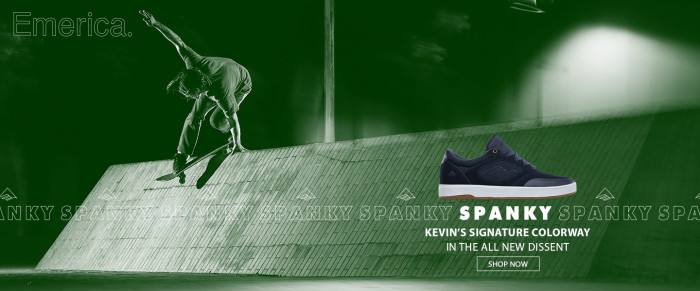 "Emerica introduces: The Kevin ""Spanky"" Long Dissent signature colorway"