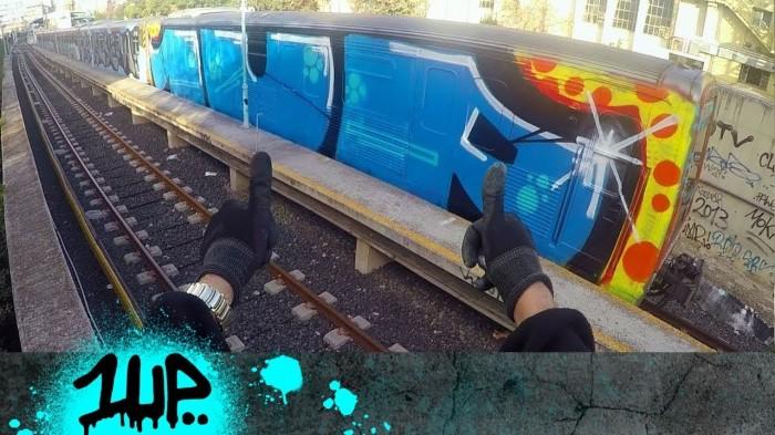 1UP – GRAFFITI OLYMPICS – DRONE VIDEO ATHENS