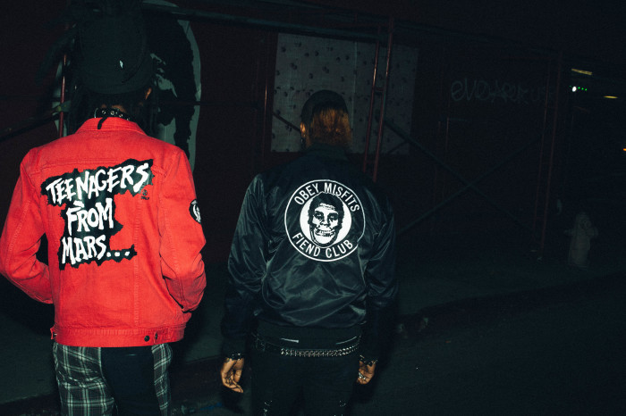 THE OBEY X MISFITS COLLECTION