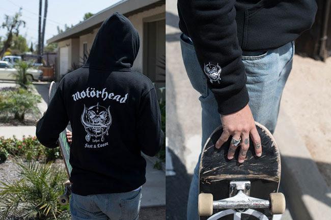 Introducing: Lakai X Motorhead Apparel Collection