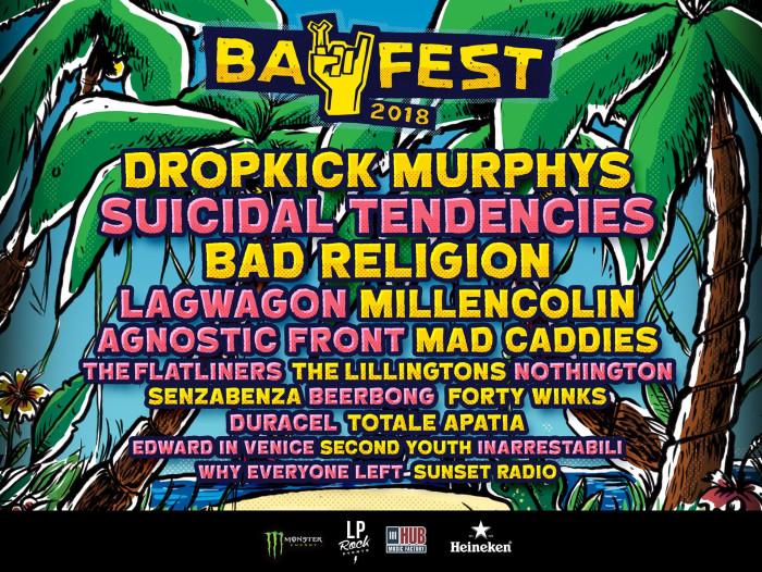 Bay Fest 2018: ecco la lineup completa