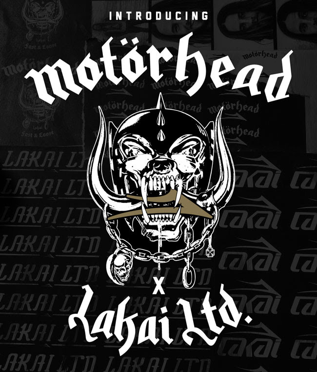 Lakai X Motorhead Full Collection