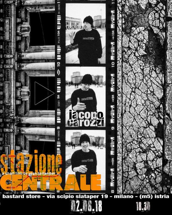 Stazione Centrale. La nuova videopart di Jacopo Carozzi