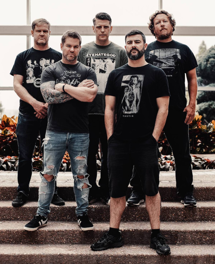 Pig Destroyer premiere 'Army Of Cops' music video