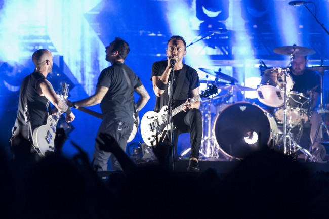 Rise Against performs in Milan