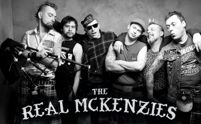 The Real Mckenzies giovedi 26 luglio in concerto al Rock Town – Cordenons – PN