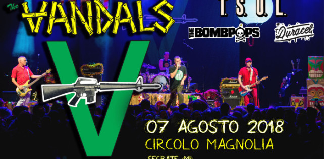 The Vandals + T.S.O.L. vinci i biglietti