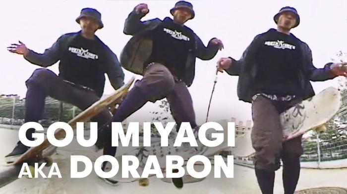 The man, the myth, the legendary skateboarder Gou Miyagi