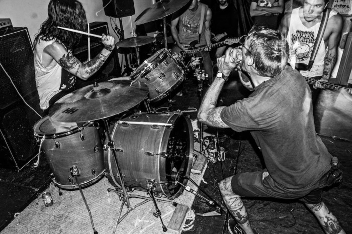 EROSION (MEMBERS OF BAPTISTS, 3 INCHES OF BLOOD) ANNOUNCE 'MAXIMUM SUFFERING' LP