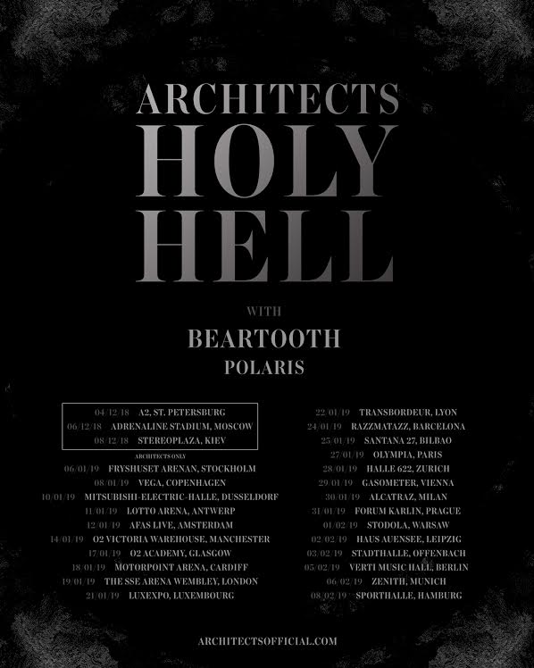 I Beartooth annunciano il tour di supporto al nuovo album 'Disease'