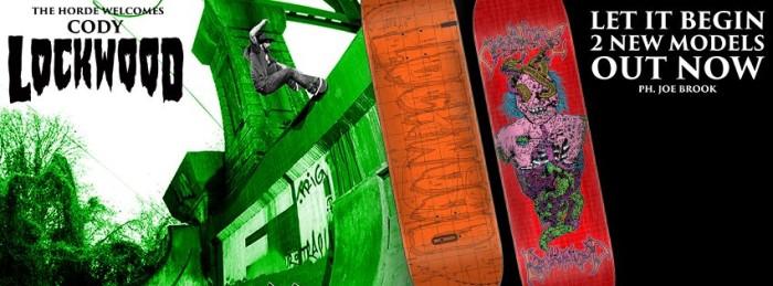 Creature Skateboards: Cody Lockwood