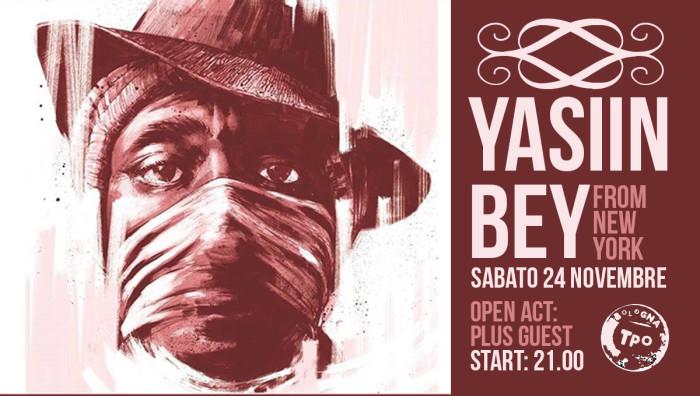 Yasiin Bey aka Mos Def live il 24 Novembre al TPO di Bologna