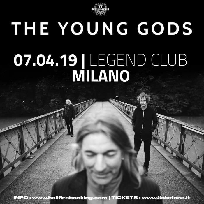 The Young Gods in Italia ad Aprile!