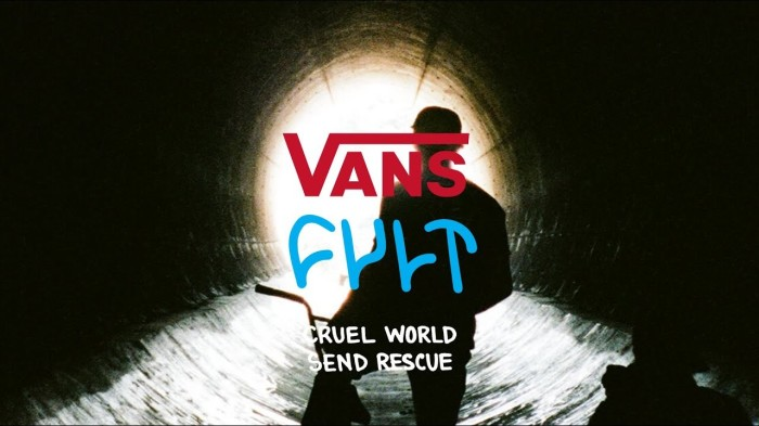 CULT X VANS HAWAII | CRUEL WORLD SEND RESCUE