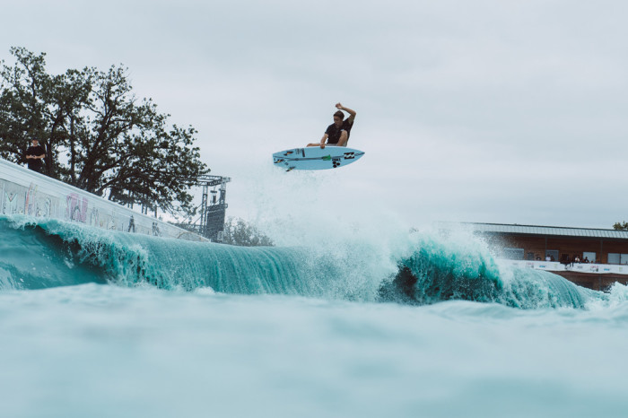 Eithan Osborne wins Big Air event at Stab High Surf Contest in Waco, Texas