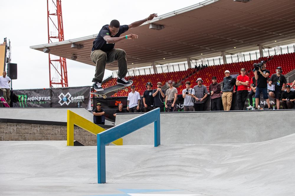 Nyjah Huston takes Gold in skateboard Street at X Games