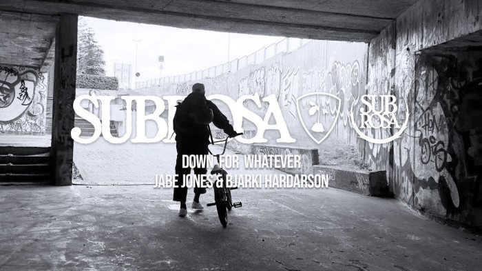 Subrosa Brand – 'Down For Whatever'