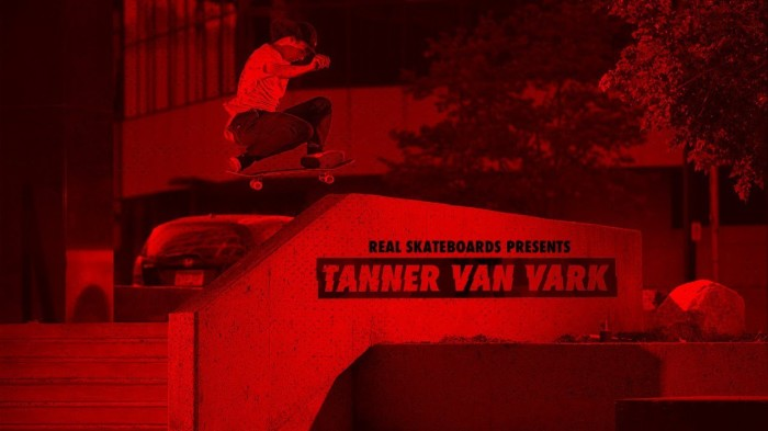 Real Skateboards presents Tanner Van Vark