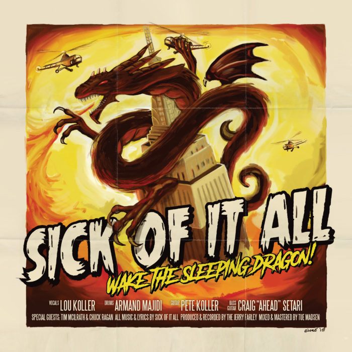 Sick Of It All 'Wake The Sleeping Dragon'