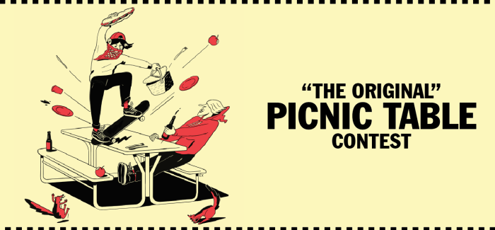 Vans Picnic Table Contest