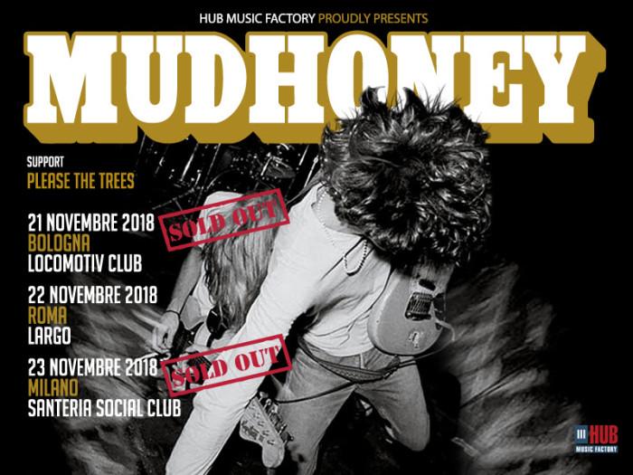 Mudhoney: le date di Bologna e Milano sono ufficialmente sold out