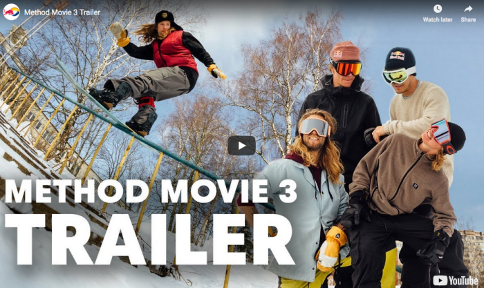 Method Mag trailer for 3rd film: premiere Zurich, Munich & Innsbruck