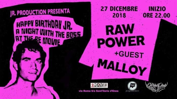 Raw Power e Malloy in provincia di Reggio Emilia
