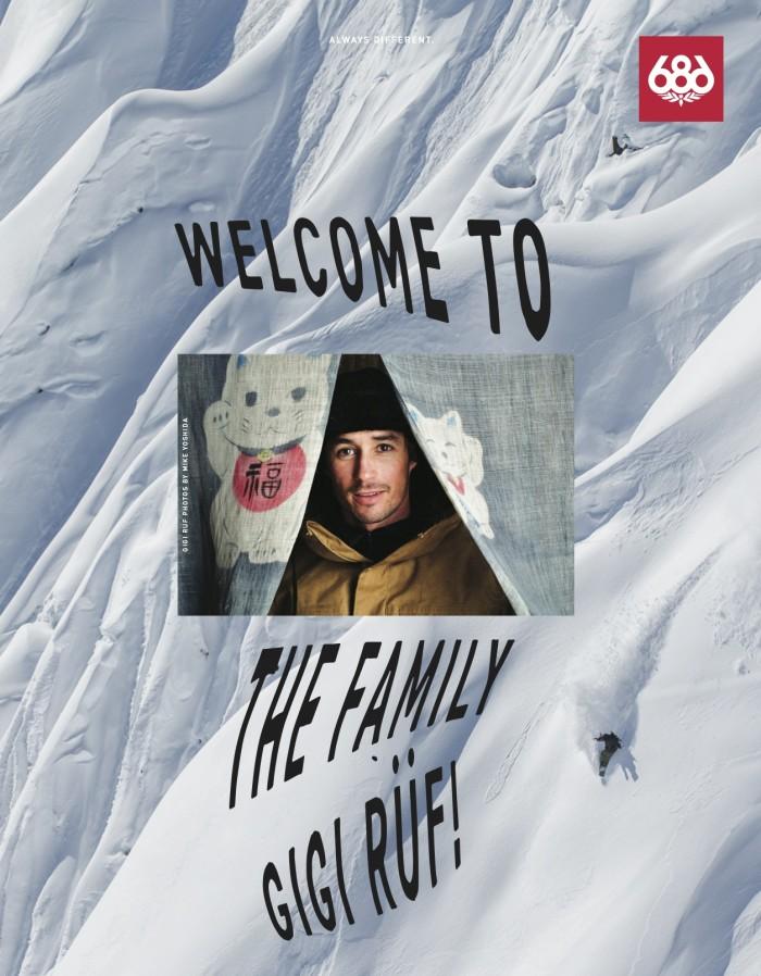 686 Welcome to the Family Gigi Rüf