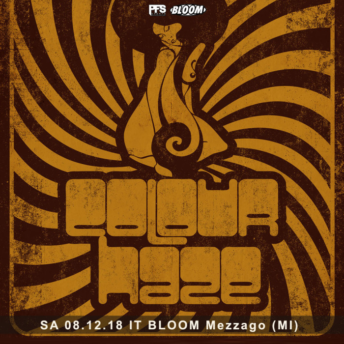 Colour Haze – sabato 08.12.18 – Bloom di Mezzago (Milano)