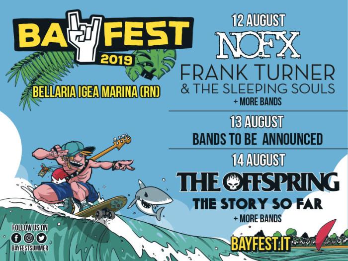 Bay Fest 2019 – The Story So Far e Frank Turner si aggiungono alla lineup