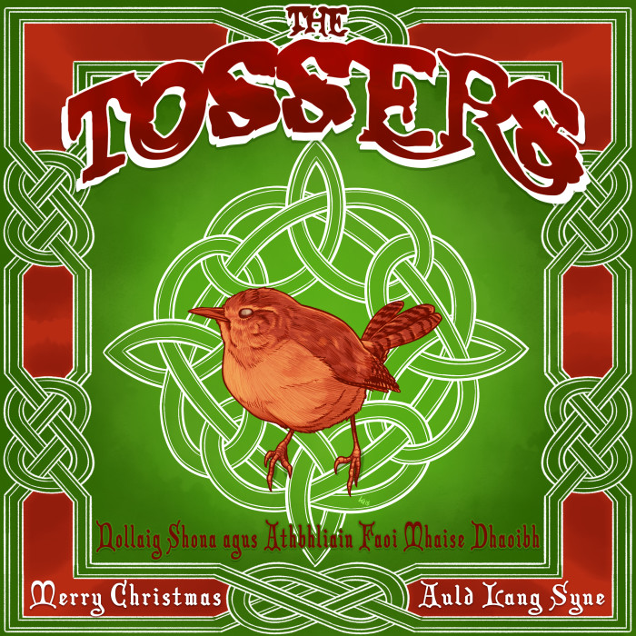 The Tossers 'Merry Christmas'