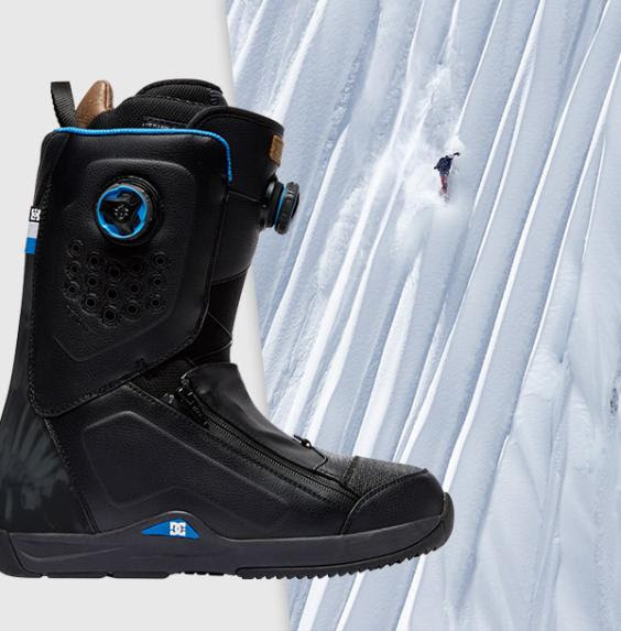 Dc snowboard boots Travis Rice