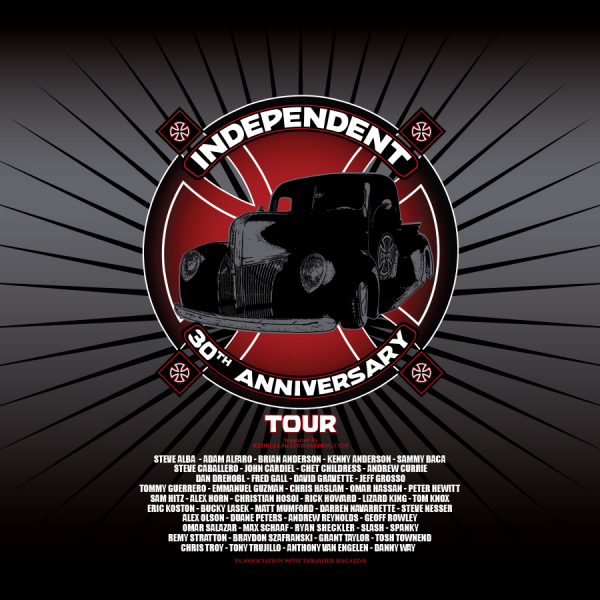Independent Trucks 30th Anniversary Tour Video