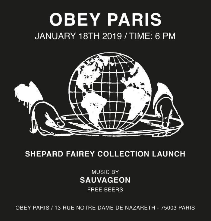 Obey at Paris Fashion Week
