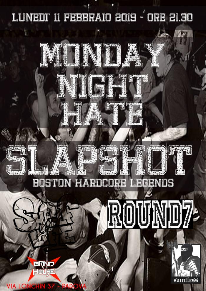 Slapshot + Round 7 + Shelf Life, 11/02/2019, Grind House Club (PD)
