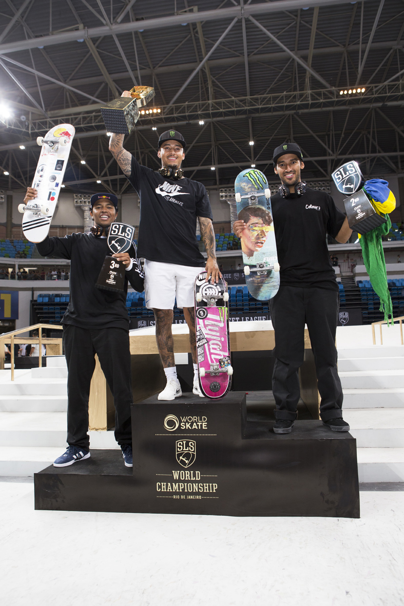 Nyjah Huston takes 1st place at the 2018 SLS World Championship in