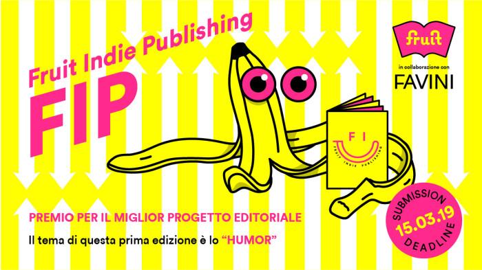 """FIP – Fruit Indie Publishing Premio per il miglior progetto editoriale a tema """"humor"""""""