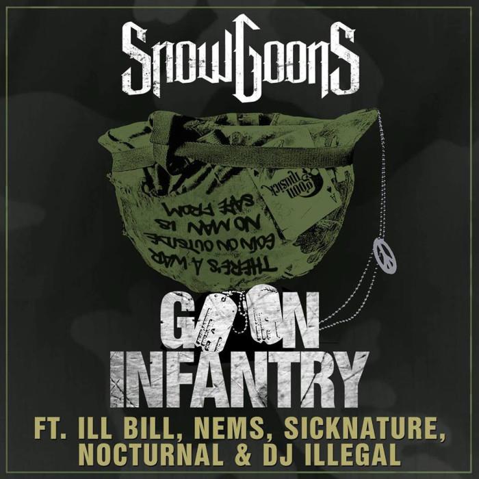 Snowgoons ft. Ill Bill, Nems, Sicknature, Nocturnal & DJ Illegal 'Goon Infantry' official music video