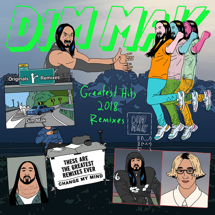 DIM MAK RELEASES 'GREATEST HITS 2018: REMIXES'