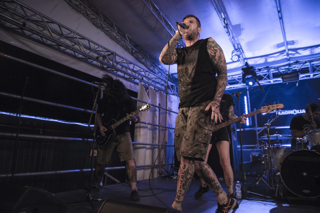 Tempest performs live in Milan