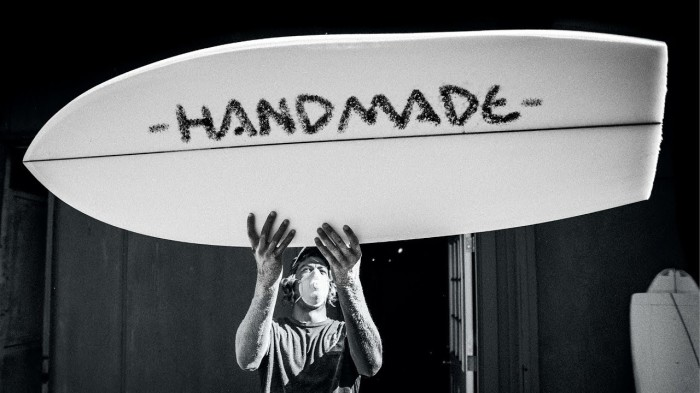 'Handmade' | A Tribute to DIY shaping feat. the world's best Surfer/Shapers