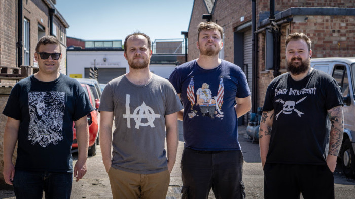 Portsmouth gruff-punks Misgivings release debut album 'Hermitage'